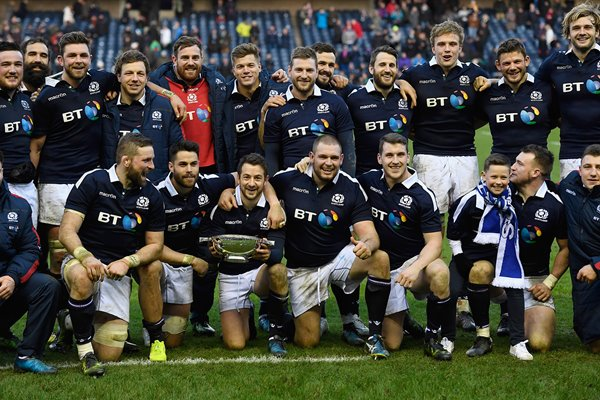 Scotland beat v Ireland Murrayfield Six Nations 2017