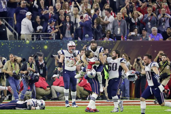 New England Patriots beat Atlanta Falcons Super Bowl 2017