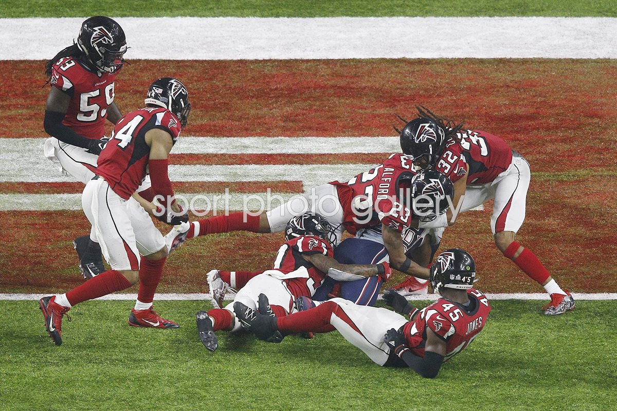 James White Patriots winning touchdown Super Bowl 2017