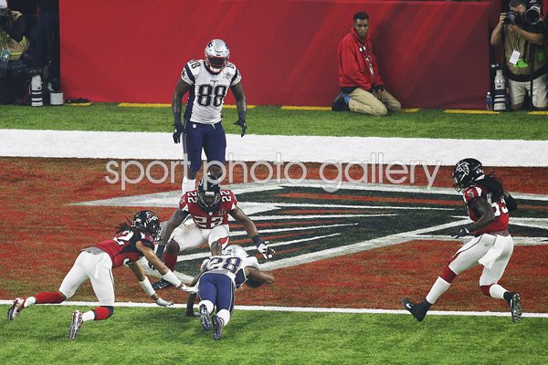 James White New England Patriots Super Bowl 2017