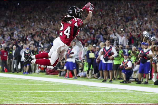 Devonta Freeman Atlanta Falcons Super Bowl 2017