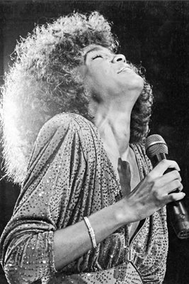 Whitney Houston Wembley 1986