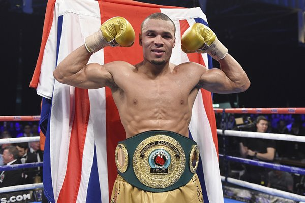 Chris Eubank Jnr World Super Middleweight Champion 2017