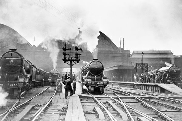 King's Cross Station in 1920s