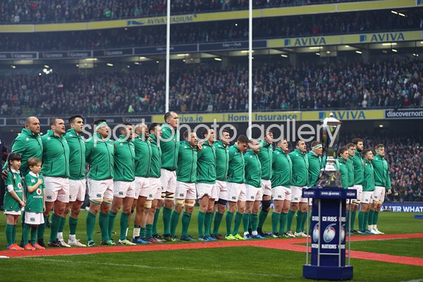 Ireland Team v France 6 Nations Aviva Stadium 2017