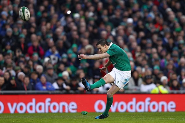 Johnny Sexton Ireland v France 6 Nations Dublin 2017