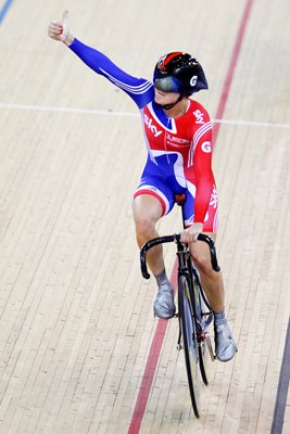 Victoria Pendleton Track Cycling World Cup 2012
