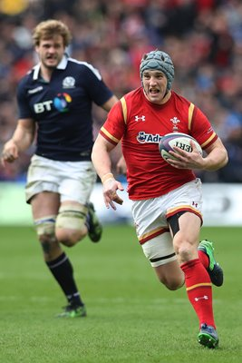 Jonathan Davies Wales v Scotland 6 Nations 2017