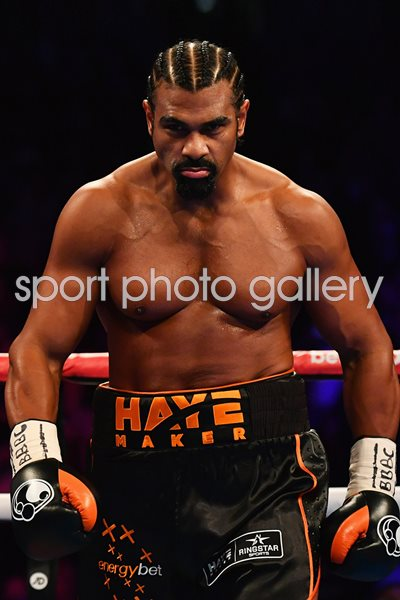 David Haye v Tony Bellew O2 London 2017