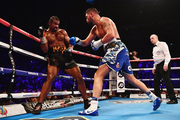 David Haye vs Tony Bellew Heavyweight Fight London 2017