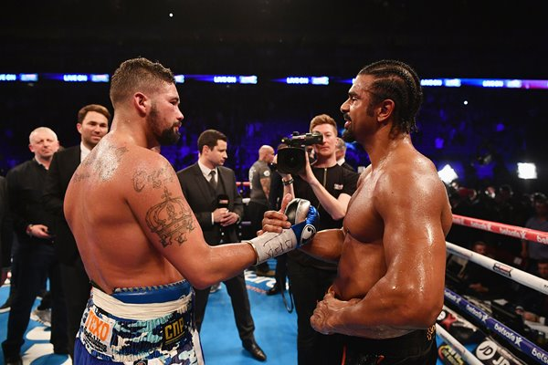 Tony Bellew and David Haye O2 London 2017