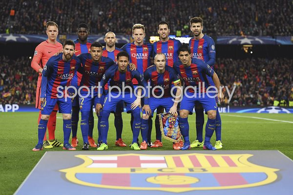 Barcelona v Paris Saint-Germain Champions League 2017