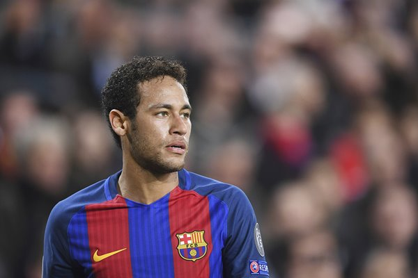 Neymar Barcelona v Paris Saint-Germain Champions League 2017