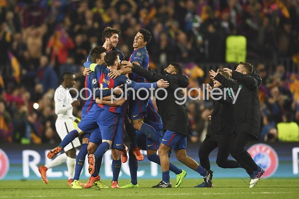 Barcelona beat Paris Saint-Germain Champions League 2017