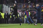 Luis Enrique Barcelona beat PSG Champions League 2017 Prints