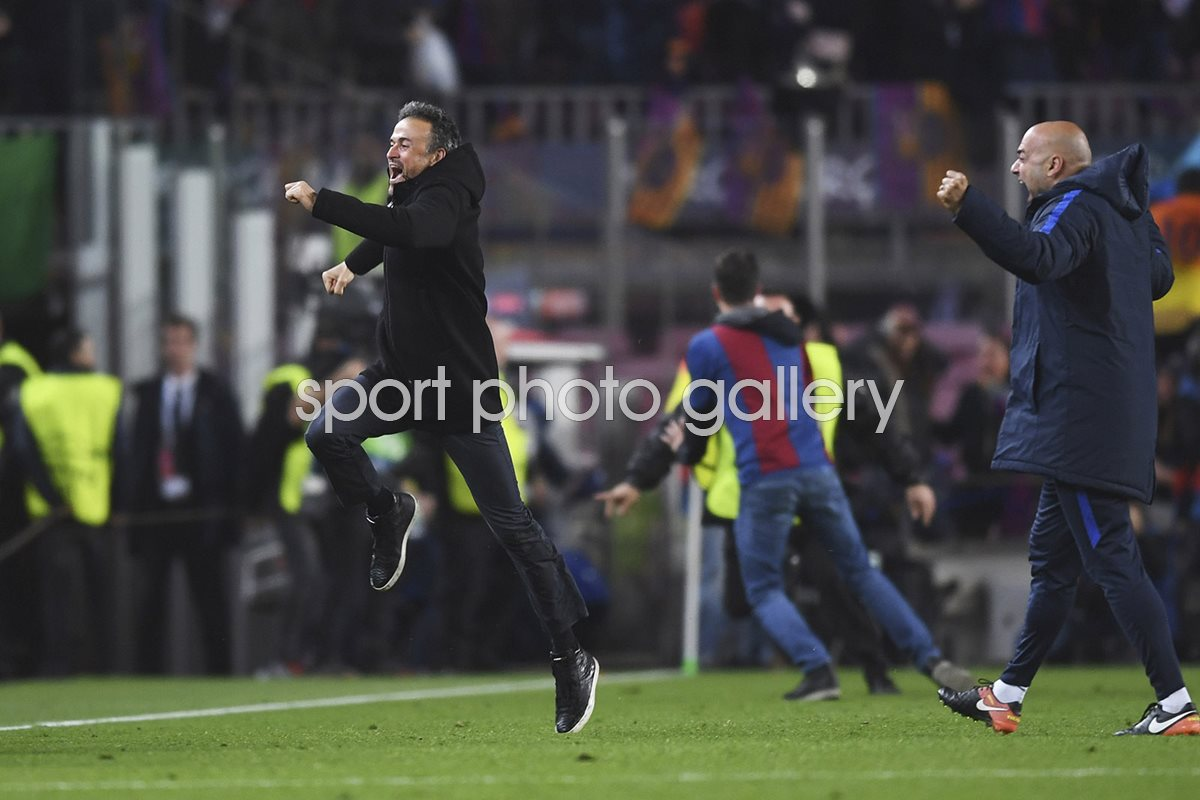 Luis Enrique Barcelona beat PSG Champions League 2017