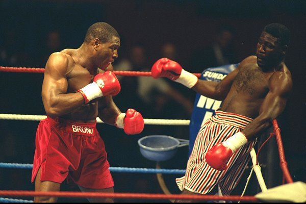 Frank Bruno v Jose Ribalta London 1992