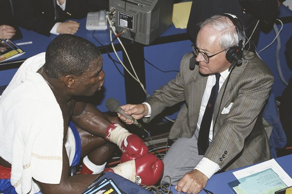 Frank Bruno & Harry Carpenter Royal Albert Hall 1991