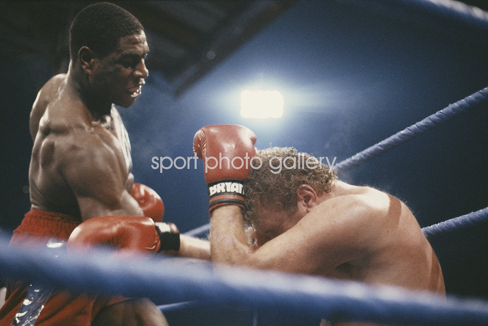 Frank Bruno beats Joe Bugner White Hart Lance 1987