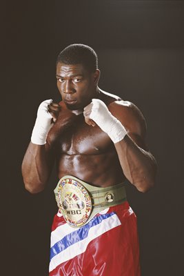 Frank Bruno WBC World Heavyweight Champion 1995