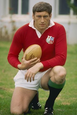 Willie John McBride British Lions South Africa Tour 1974
