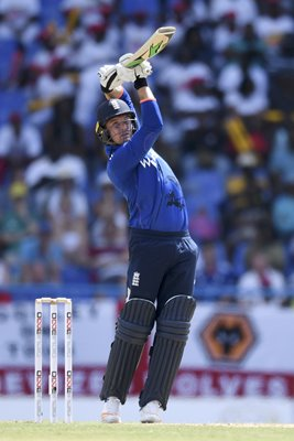 Jason Roy England v West Indies ODI Antigua 2017