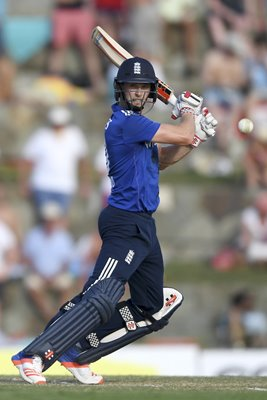 Chris Woakes England v West Indies ODI Antigua 2017