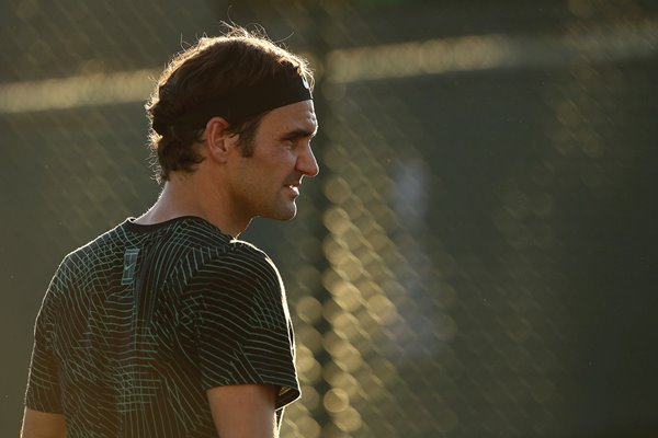 Roger Federer BNP Paribas Open Indian Wells 2017