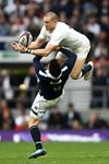 Mike Brown England v Ali Price Scotland 6 Nations 2017 Mounts