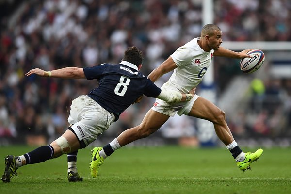 Jonathan Joseph England v Scotland 6 Nations Twickenham 2017