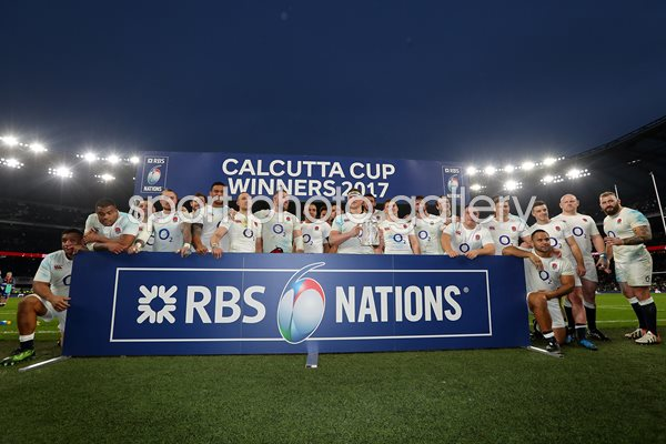 England win Calcutta Cup 6 Nations Twickenham 2017