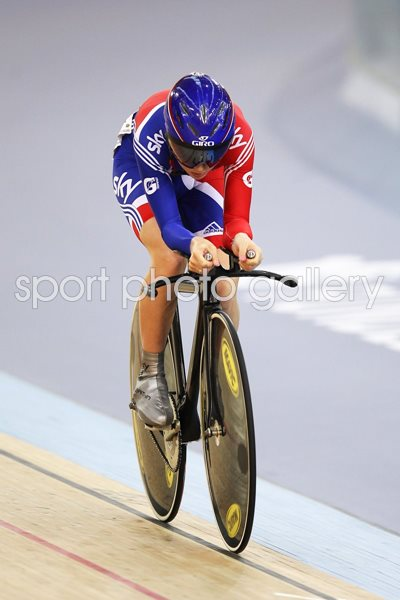 Laura Trott Track Cycling World Cup 2012