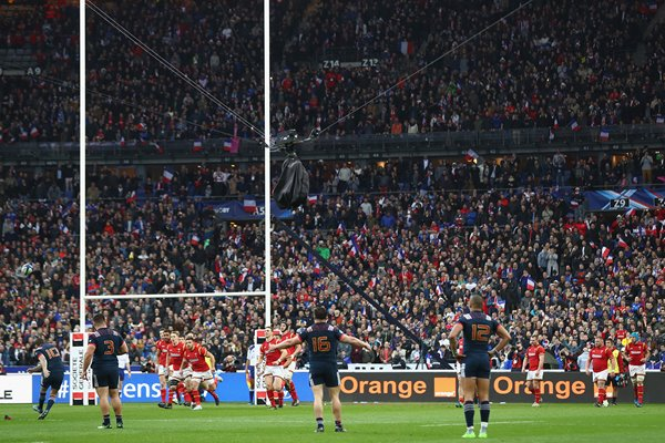 Camille Lopez France v Wales Six Nations Paris 2017