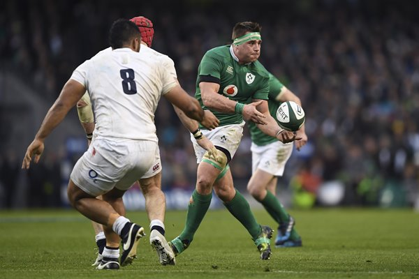 CJ Stander Ireland v England 6 Nations Dublin 2017