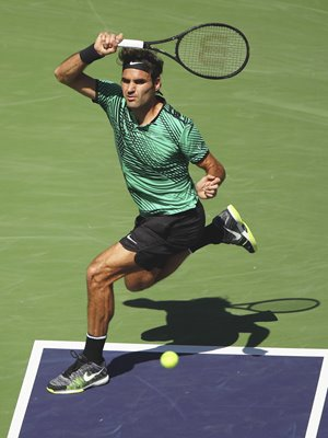 Roger Federer Indian Wells Champion 2017
