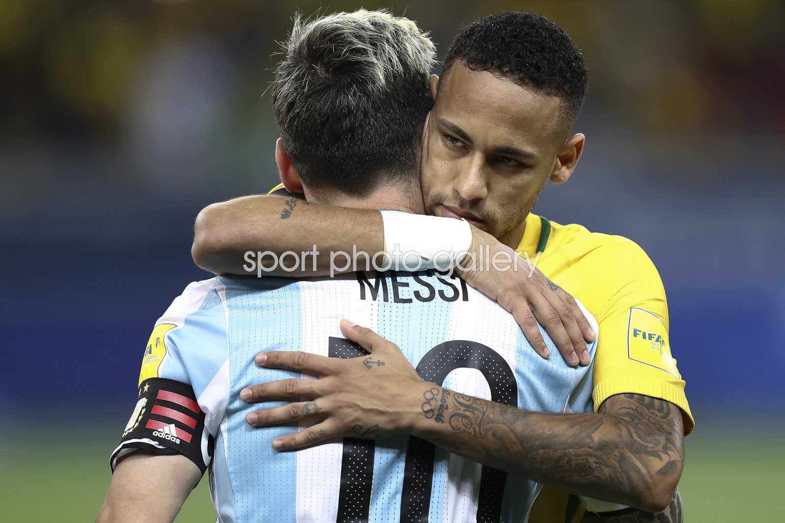 Neymar Brazil v Messi Argentina 2018 World Cup Qualifier