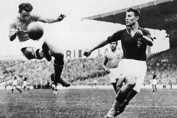 Alfredo Foni Italy v Hungary World Cup Final 1938