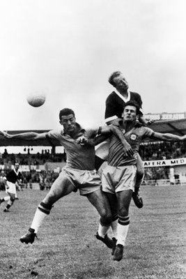 Ivor Allchurch Wales v Brazil World Cup 1958