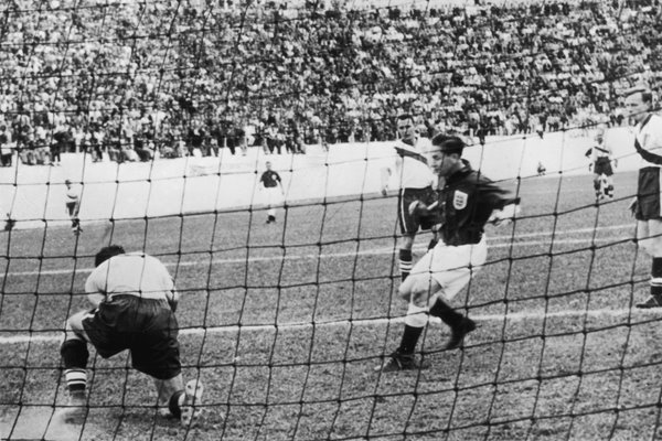 Tom Finney England v USA World Cup Brazil 1950