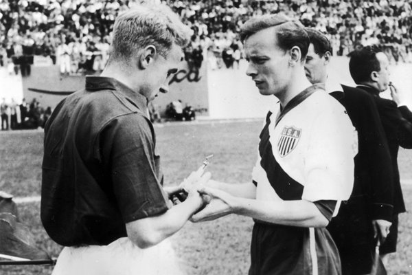 Billy Wright England v USA World Cup 1950