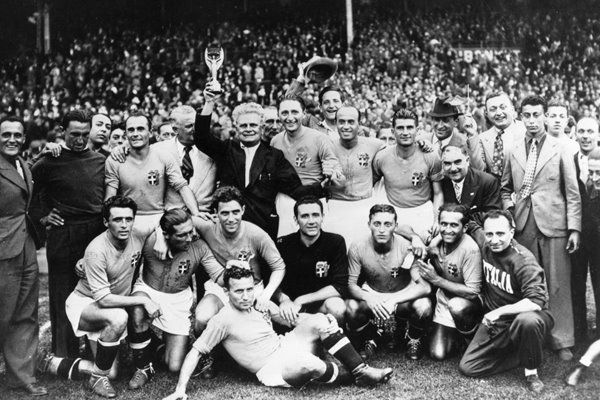 Italian Football Team World Cup Paris 1938