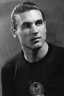 Grosits Gyula 1953 Hungarian goalkeeper