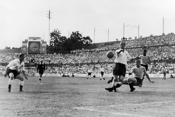 England v Uraguay World Cup 1954