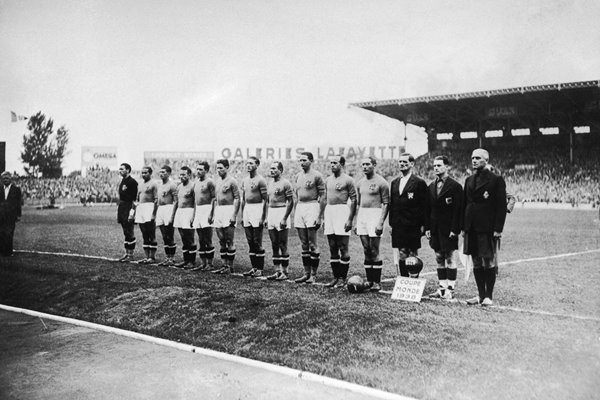 Italy World Cup Champions 1938