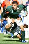 Bryan Habana South Africa Rugby World Cup 2007 Prints