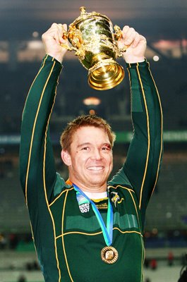 John Smit South Africa Captain World Cup Winner 2007