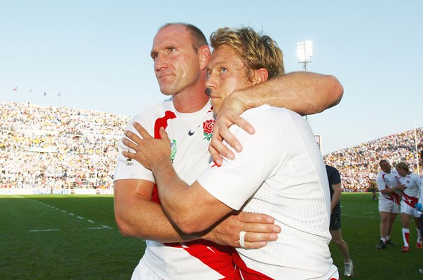 Lawrence Dallaglio & Jonny Wilkinson Marseille RWC 2007