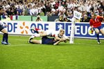 Josh Lewsey England scores World Cup Semi Final 2007 Prints
