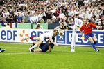 Josh Lewsey England scores World Cup Semi Final 2007 Canvas