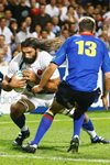 Sebastien Chabal France v Namibia Rugby World Cup 2007  Canvas
